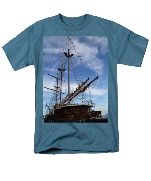 1812 Tall Ships Peacemaker Men's T-Shirt  (Regular Fit) by Lingfai Leung