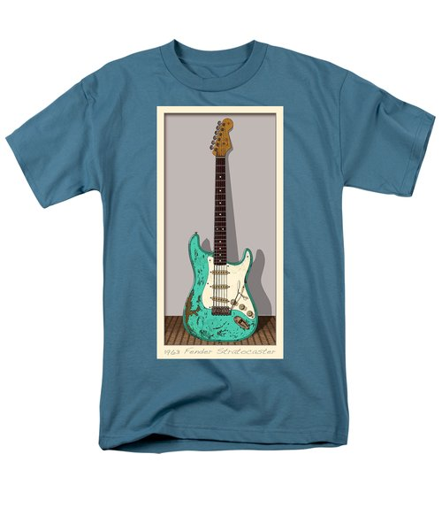Men's T-Shirt  (Regular Fit) featuring the digital art 1963 by WB Johnston