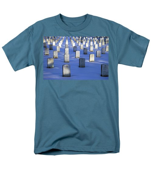 Men's T-Shirt  (Regular Fit) featuring the photograph Beneath The Snow by Cora Wandel