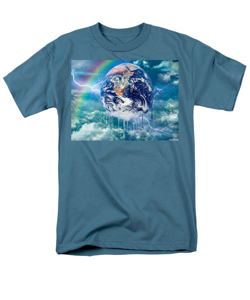 Climate Change Men's T-Shirt  (Regular Fit) by Robert Orinski