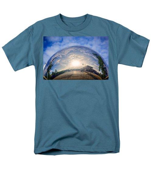 Distorted Reflection Men's T-Shirt  (Regular Fit) by Sennie Pierson