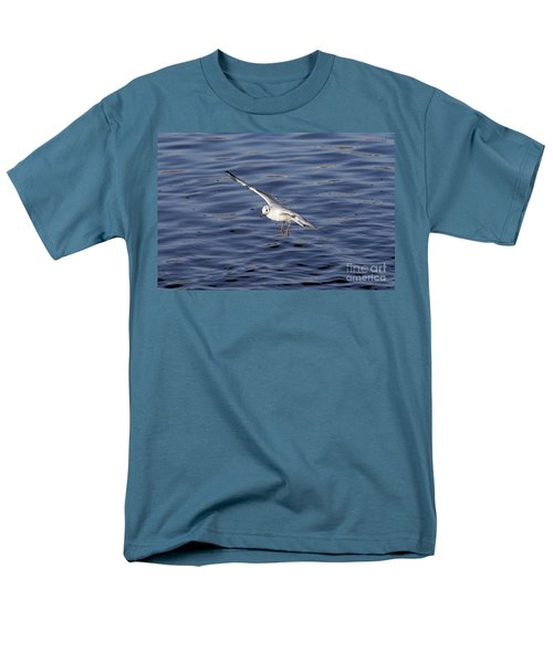 Flying Gull Men's T-Shirt  (Regular Fit) by Michal Boubin