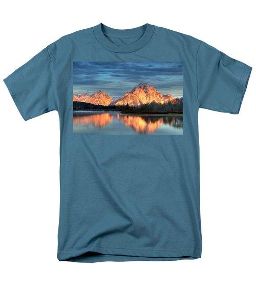 Mount Moran Men's T-Shirt  (Regular Fit) by Steve Stuller