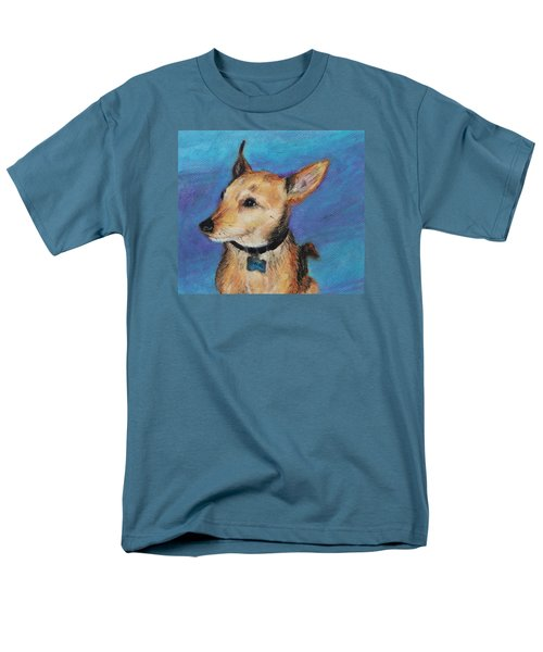 Men's T-Shirt  (Regular Fit) featuring the painting Zack by Jeanne Fischer