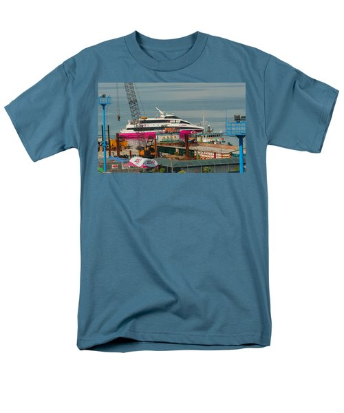 Men's T-Shirt  (Regular Fit) featuring the photograph 2go Travel by Ester  Rogers