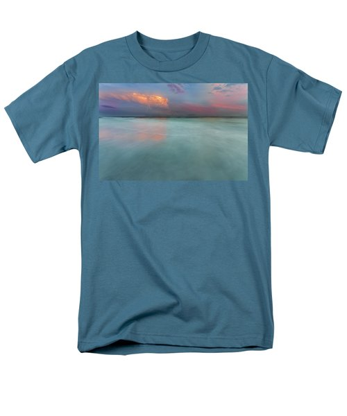 Sunset On Hilton Head Island Men's T-Shirt  (Regular Fit) by Peter Lakomy