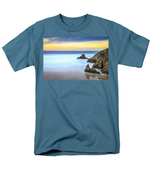 Campelo Beach Galicia Spain Men's T-Shirt  (Regular Fit) by Pablo Avanzini