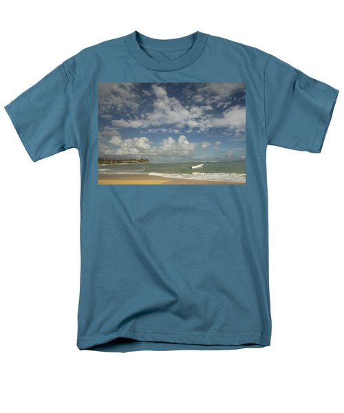 A Beautiful Day Men's T-Shirt  (Regular Fit) by Mustafa Abdullah