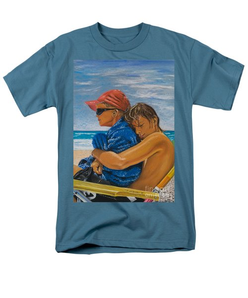 A Day On The Beach Men's T-Shirt  (Regular Fit) by Katharina Filus
