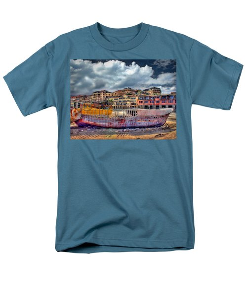 A Genesis Sunrise Over The Old City Men's T-Shirt  (Regular Fit) by Ronsho