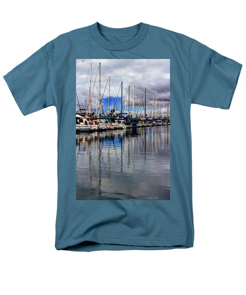 A Hint Of Blue Men's T-Shirt  (Regular Fit) by Heidi Smith