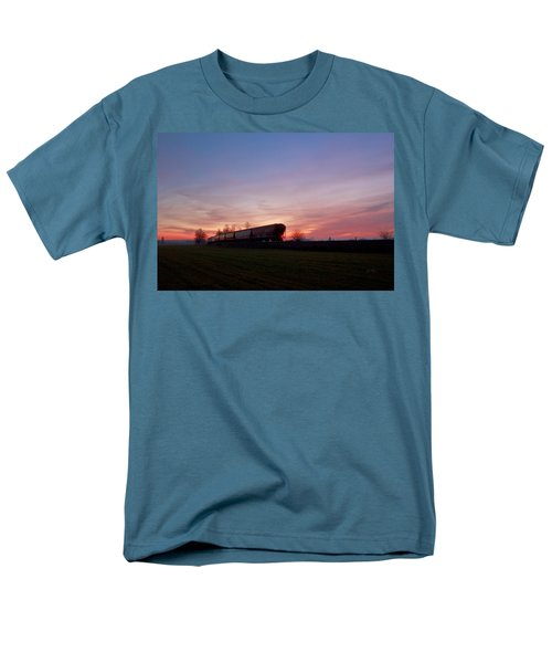 Men's T-Shirt  (Regular Fit) featuring the photograph Abandoned Train  by Eti Reid