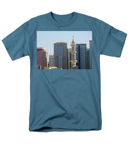 Abu Dhabi City Center Men's T-Shirt  (Regular Fit)