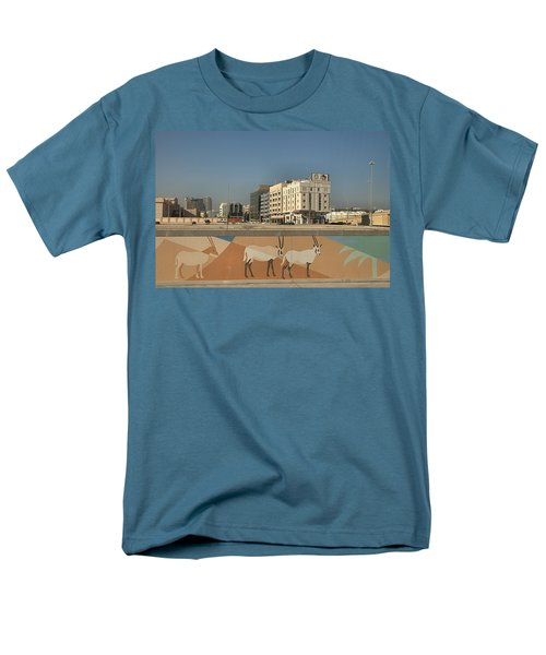 Abu Dhabi Outskirts Men's T-Shirt  (Regular Fit)