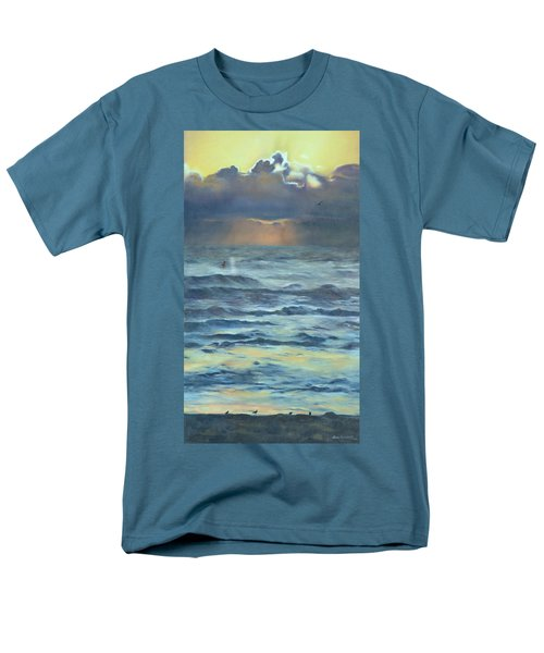 Men's T-Shirt  (Regular Fit) featuring the painting After The Storm by Lori Brackett