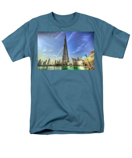 Men's T-Shirt  (Regular Fit) featuring the photograph Air Trail by John Swartz
