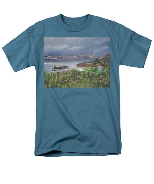 Alcatraz Men's T-Shirt  (Regular Fit) by Michael Daniels