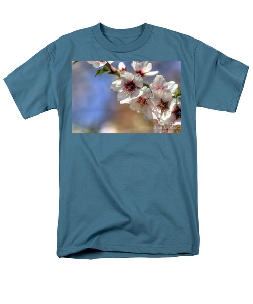 Men's T-Shirt  (Regular Fit) featuring the photograph Almond Blossoms by Jim and Emily Bush