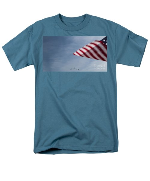 Men's T-Shirt  (Regular Fit) featuring the photograph Almost Home by Angela DeFrias