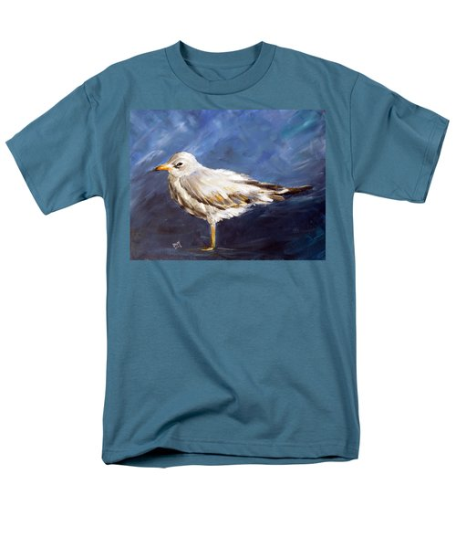 Men's T-Shirt  (Regular Fit) featuring the painting Alone by Dorothy Maier