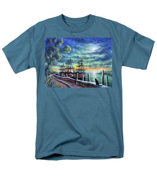 And We Shall Sail My Love And I Men's T-Shirt  (Regular Fit) by Retta Stephenson