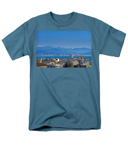 Men's T-Shirt  (Regular Fit) featuring the photograph Antibes by Juergen Klust