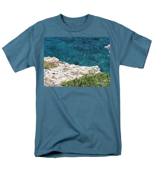 Antigua - Flight Men's T-Shirt  (Regular Fit) by HEVi FineArt