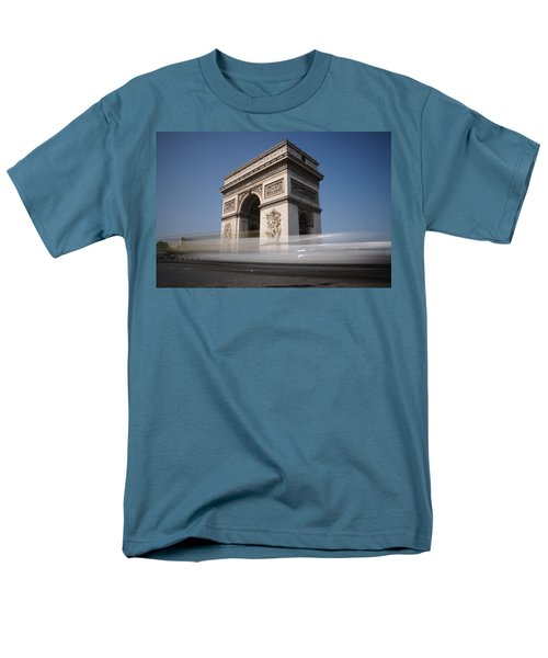 Men's T-Shirt  (Regular Fit) featuring the photograph Arc De Triomphe by Jeremy Voisey