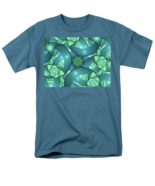 Men's T-Shirt  (Regular Fit) featuring the digital art Art Deco by Gabiw Art