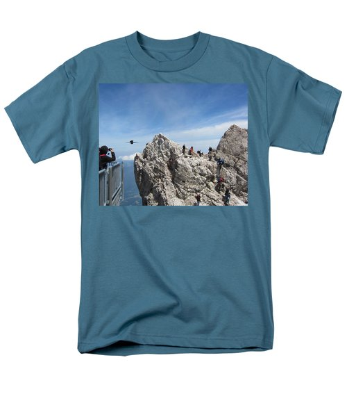 Men's T-Shirt  (Regular Fit) featuring the photograph As The Crow Flies 1 by Pema Hou