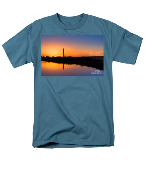 As The Sun Sets And The Water Reflects Men's T-Shirt  (Regular Fit)