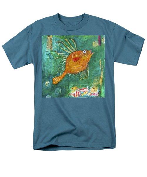 Asian Fish Men's T-Shirt  (Regular Fit)