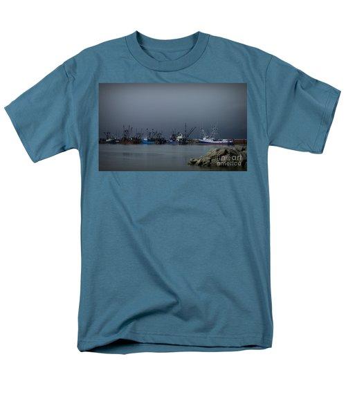 Astoria Safe Harbor Men's T-Shirt  (Regular Fit) by Chalet Roome-Rigdon