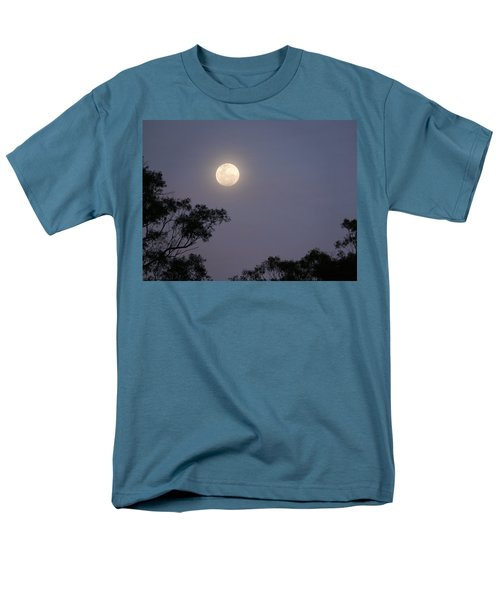 Men's T-Shirt  (Regular Fit) featuring the photograph August Moon by Evelyn Tambour