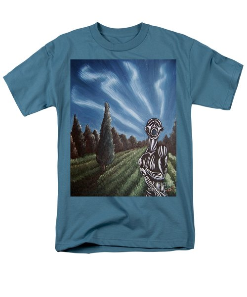 Men's T-Shirt  (Regular Fit) featuring the painting Aurora by Michael  TMAD Finney