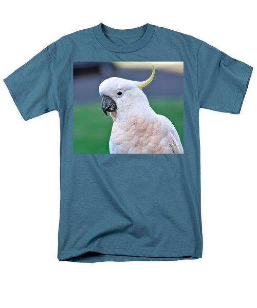 Australian Birds - Cockatoo Men's T-Shirt  (Regular Fit) by Kaye Menner