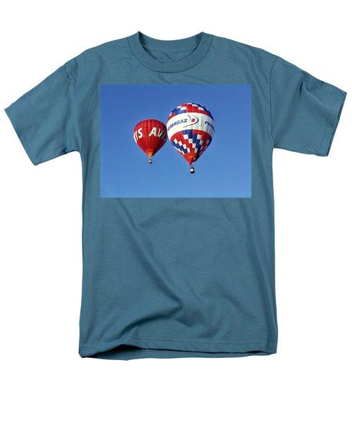 Men's T-Shirt  (Regular Fit) featuring the photograph Avis Balloon by John Swartz