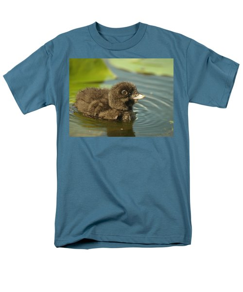 Men's T-Shirt  (Regular Fit) featuring the photograph Baby Loon by James Peterson