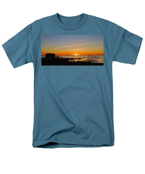 Baltic Sea Sunset Men's T-Shirt  (Regular Fit) by Kennerth and Birgitta Kullman