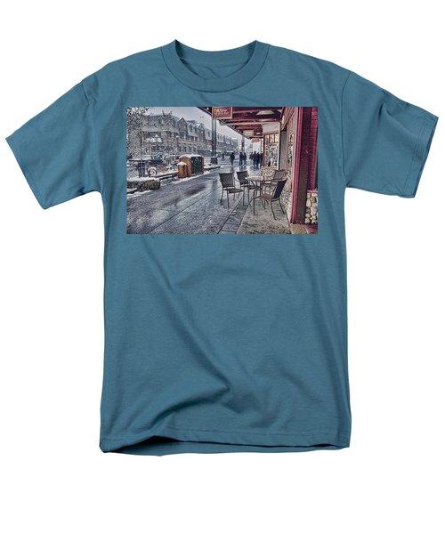 Banff Avenue Men's T-Shirt  (Regular Fit) by Diane Dugas