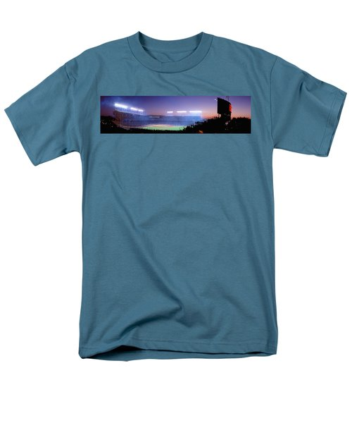 Baseball, Cubs, Chicago, Illinois, Usa Men's T-Shirt  (Regular Fit) by Panoramic Images