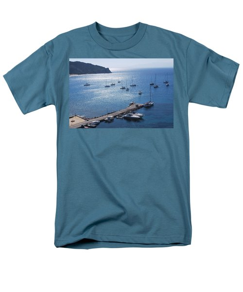 Men's T-Shirt  (Regular Fit) featuring the photograph Bay Of Porto by George Katechis