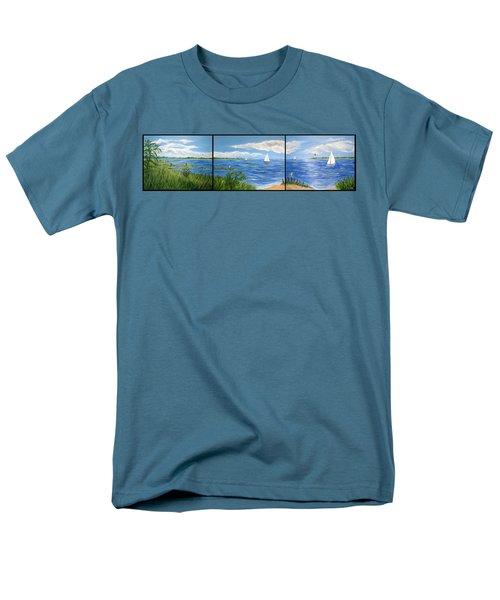 Bayville Trio Men's T-Shirt  (Regular Fit)
