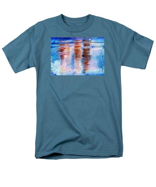 Beach Colors Men's T-Shirt  (Regular Fit) by Marcia Lee Jones