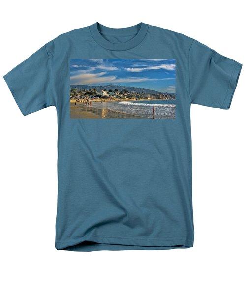 Beach Fun Men's T-Shirt  (Regular Fit) by Tammy Espino