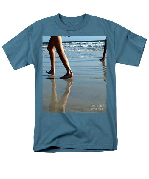 Beat Feet Men's T-Shirt  (Regular Fit) by Irma BACKELANT GALLERIES