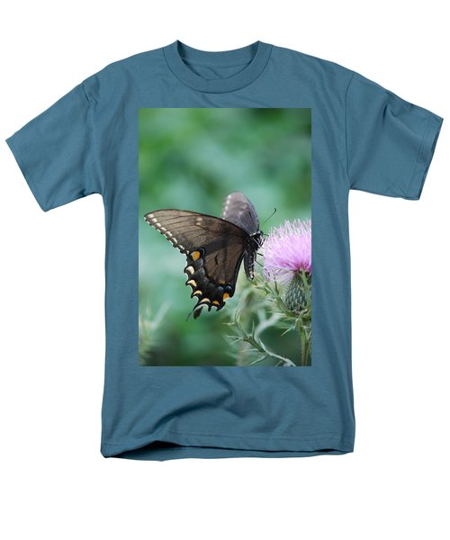 Beauty And Thistle Men's T-Shirt  (Regular Fit) by Eric Liller