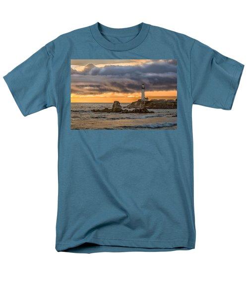 Between Storms Men's T-Shirt  (Regular Fit) by Linda Villers