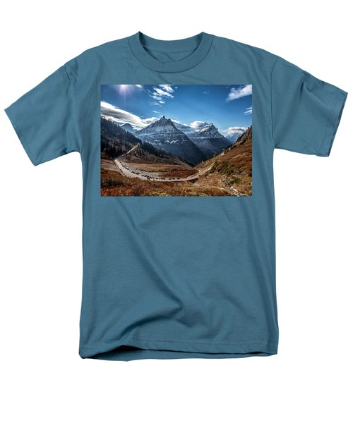 Men's T-Shirt  (Regular Fit) featuring the photograph Big Bend by Aaron Aldrich