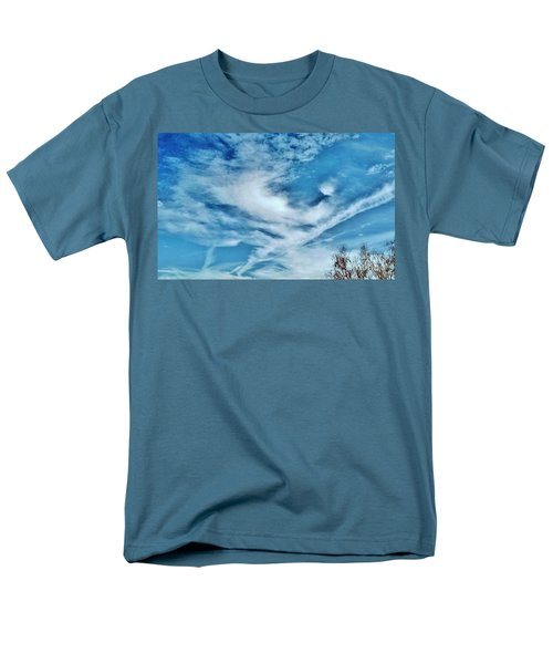 Bird Cloud Soaring By Men's T-Shirt  (Regular Fit) by Angela J Wright